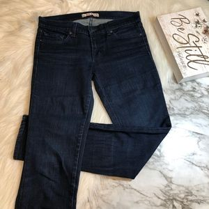J Brand THE DEAL Skinny Jean Zipper Ankle, Size 27
